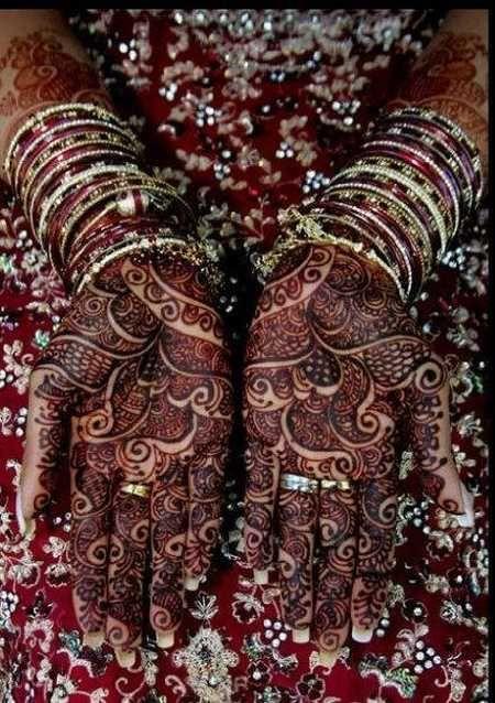 north african style Mehndi