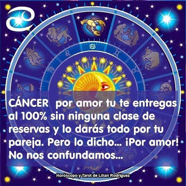 #CANCER  Visita el #Tarot diario y el #Horóscopo semanal en alundain.com