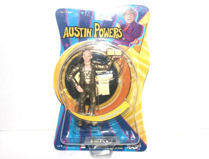 NOS, Austin Powers in Goldmember Goldmember Action Figure, Antique Alchemy