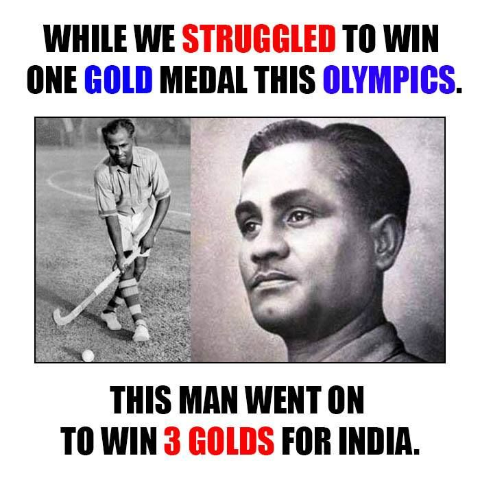 Remembering Major Dhyan Chand today on his Birth 110th Anniversary. Major Dhyan Chand, a forgotten Bharat Ratna, Tributes to him..... #NationalSportsDay www.narayanseva.org