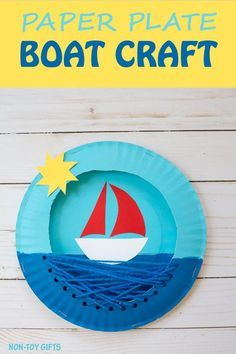 how to make a boat for pre-schoolers
