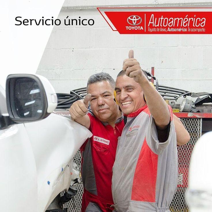 En nuestros talleres encontrarás un equipo con toda la actitud y el carisma para ofrecerte un servicio único a ti y a tu #Toyota. Visítanos para atenderte en nuestros servicios de #MantenimientoExpress y mecánica general.