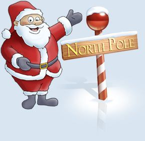 santa interactions...Vacations Destinations, Interactive North, Pole Weather, Santa Interactive, Cold Climate, Pole Site, Things, North Pole, Icons Christmas