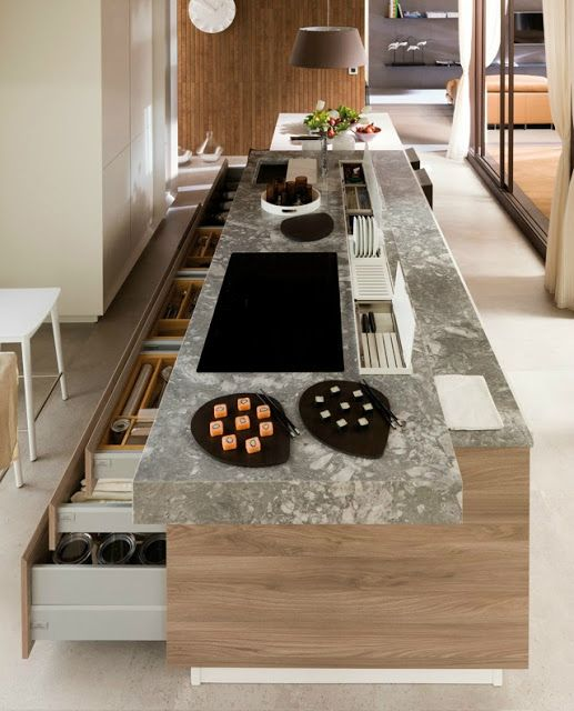 Functional Contemporary Kithen Designs 30