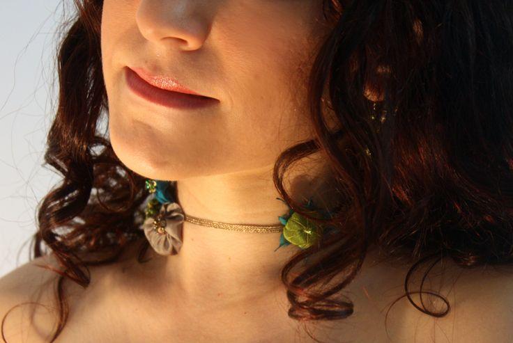 Necklace, unique piece, hand made.