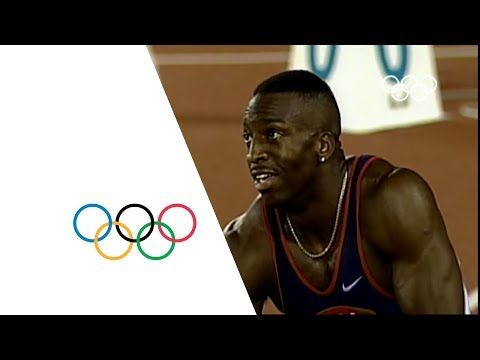 Michael Johnson Breaks 200m & 400m Olympic Records - Atlanta 1996 Olympics - YouTube
