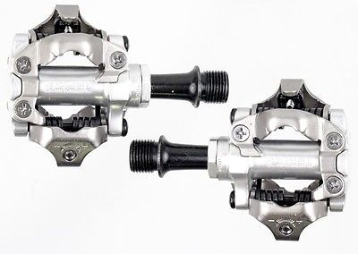 Pedals 36137: 2016 Shimano Pd-M540 Mtb Mountain Bike Clipless Pedals W/ Spd Cleats New Silver -> BUY IT NOW ONLY: $44.95 on eBay!