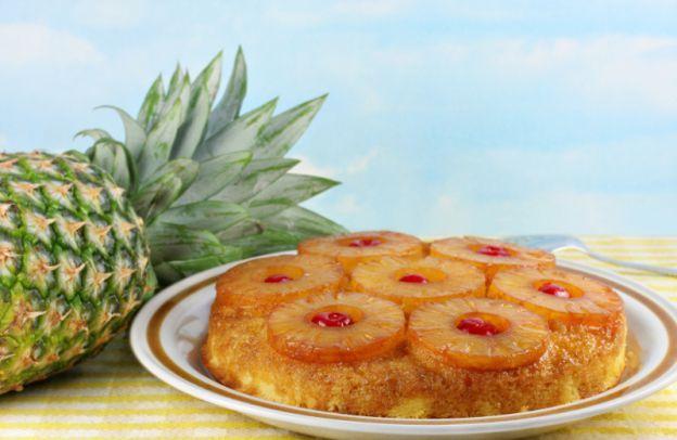 Recette traditionnelle de gâteau renversé à l'ananas très facile
