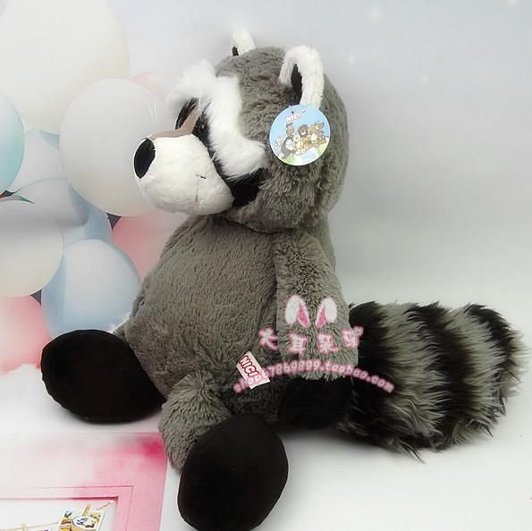 Чучело плюшевые 35 см - 45 см милый енот плюшевые игрушки подарок на день рождения w822