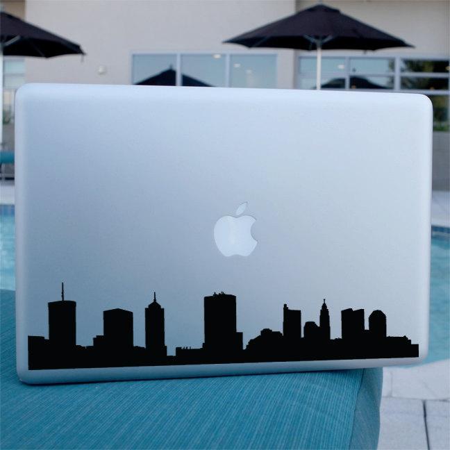 Columbus Skyline Decal - Vinyl Sticker - For Car, Window,  Laptop, Wall. $12.95, via Etsy.