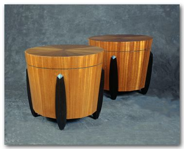 Timpani Tables J. Miller Handcrafted Furniture