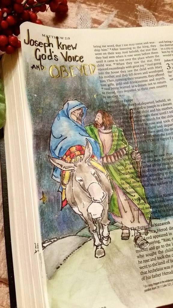 Created by: Jann Saulsberry - Bible Journaling, Bible Art Journaling.