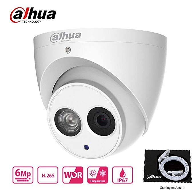 Dahua Dome Camera HDBW4431R-ZS 4MP IP Camera Varifocal Motorized Zoom 2.7-12mm Lens POE Waterproof Outdoor Network Security Surveillance System IP67 IK10 ONVIF H.265 H.264 International Version /…