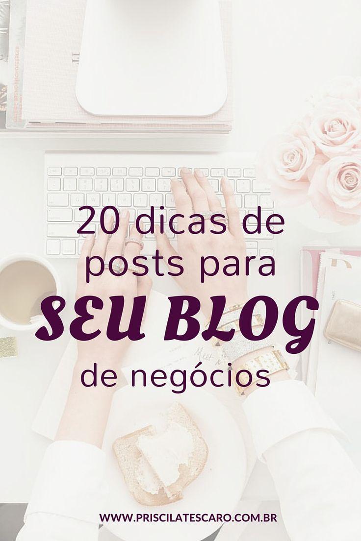 """""""Blogar"""" já se transformou um verbo. Pode ser o mesmo que escrever, ler, ouvir. Quem """"bloga"""" quer dizer algo, transmitir uma mensagem, ensinar algo, contar uma novidade, desabafar….. Até alguns anos atrás, """"blogar"""" era sinônimo de jovens que queriam expor suas ideias e opiniões. Hoje em dia, ter um blog não é mais privilégio de…Continue lendo"""