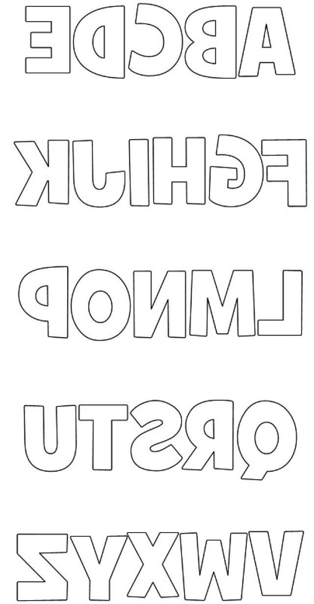 Free Printable Lowercase Block Letters