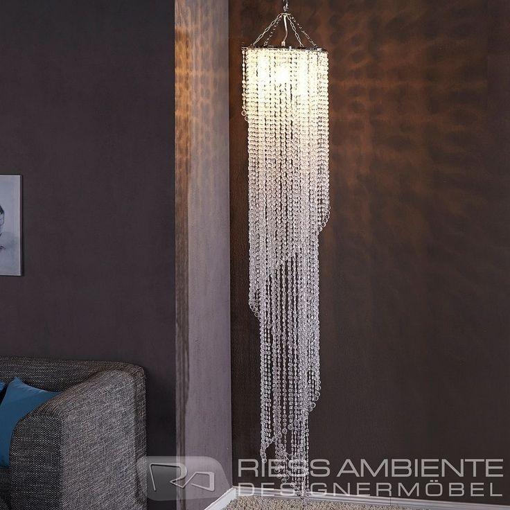 Design XL Hängelampe Kronleuchter BIG STRASS 180cm Kristall Lampe Hängeleuchte in Möbel & Wohnen, Beleuchtung, Deckenlampen & Kronleuchter | eBay!