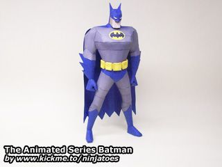 The Animated Series Batman papercraft: http://ninjatoes.wordpress.com/2012/02/05/the-animated-series-batman/