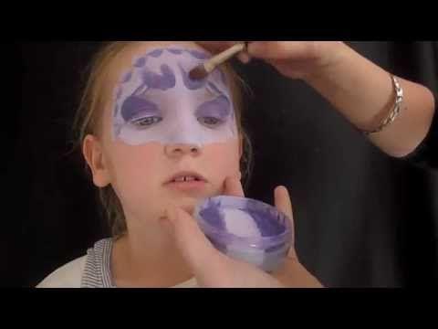 Face Painting Dinosaur Mask