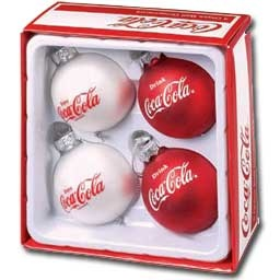Coca Cola ornaments...