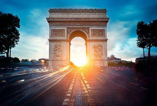 from {panka} with loveFamous Landmarks, Creative Pictures, Arc De Triomphe, Triumphal Arches, Paris France, Travel, Places, Photography, Arco Do Triunfo