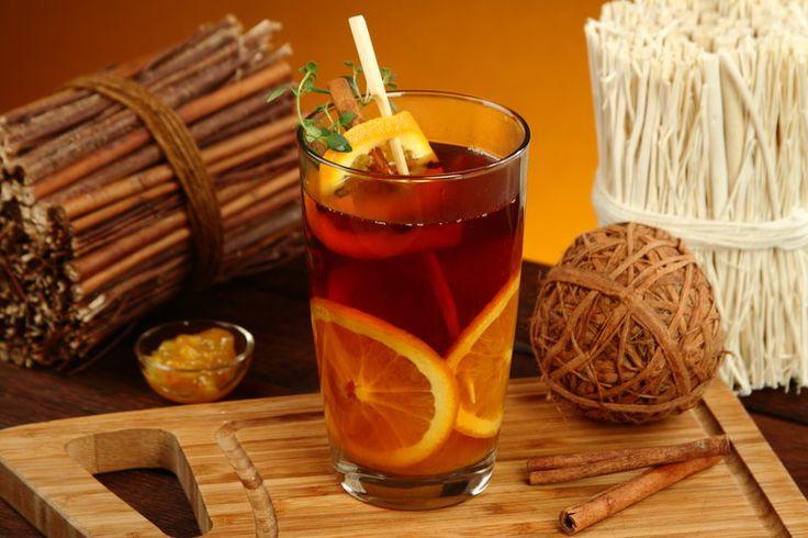 Przepis na Pomarańczowa herbata na deszczowe dni