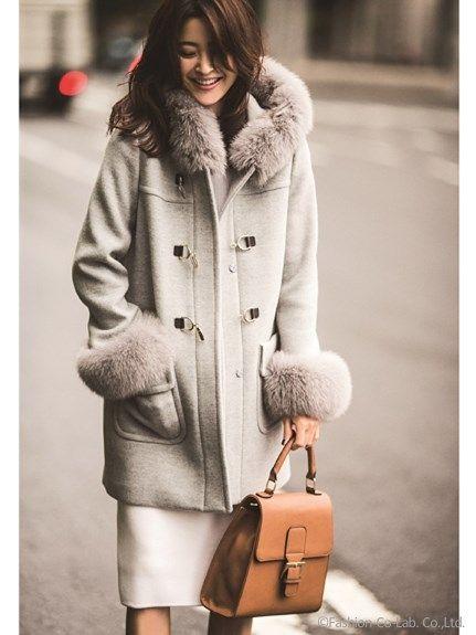 ダッフルコート(追加生産/グレー)(ダッフルコート)|JUSGLITTY(ジャスグリッティー)|ファッションウォーカー