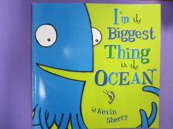 Video + drawing/painting lesson for kindergarten-first based on book 'Im the biggest thing in the ocean'