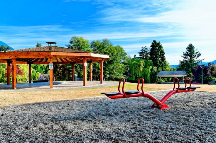 Dougall Park - Gibsons. Sunshine Coast, Howe Sound, British Columbia, Canada