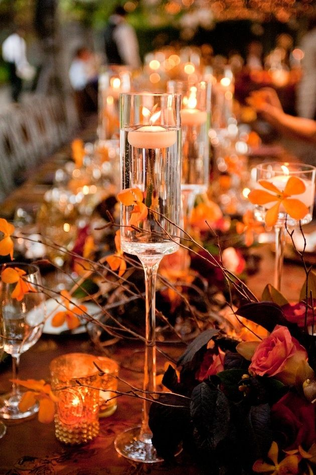 Best fall centerpieces images on pinterest adorable