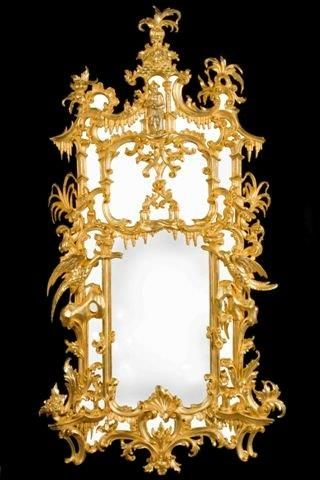 Mirror  style  Chippendale hand made - produced in my work-shop -in Florence