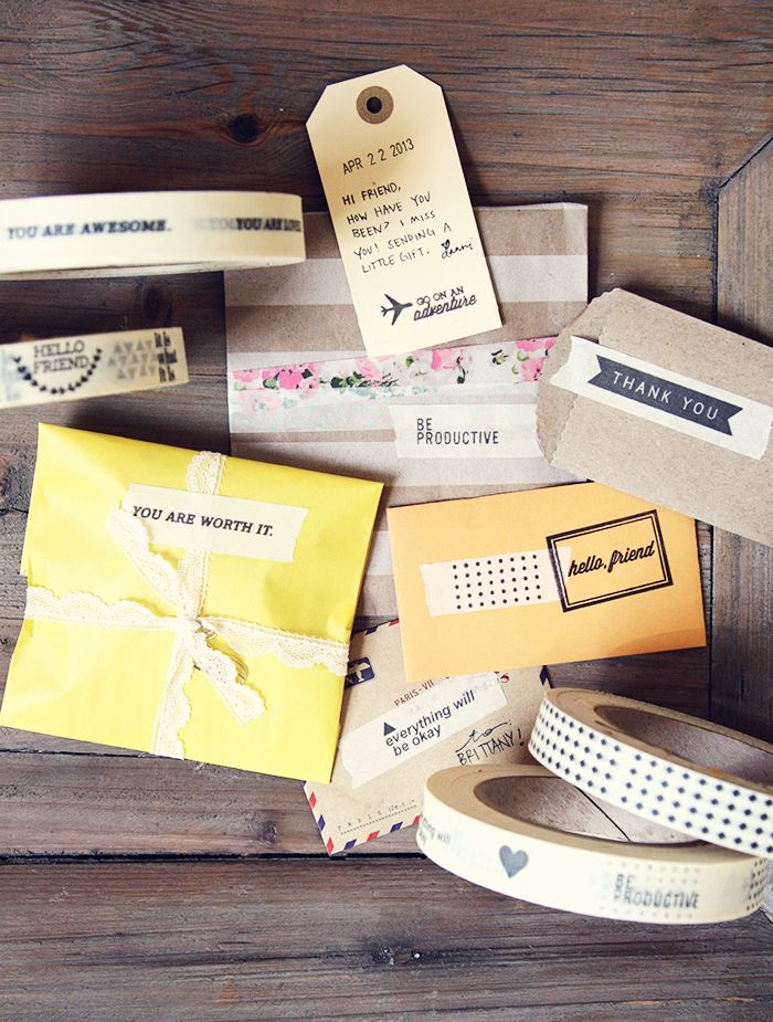 Oh, Hello Friend | Message Masking Tape