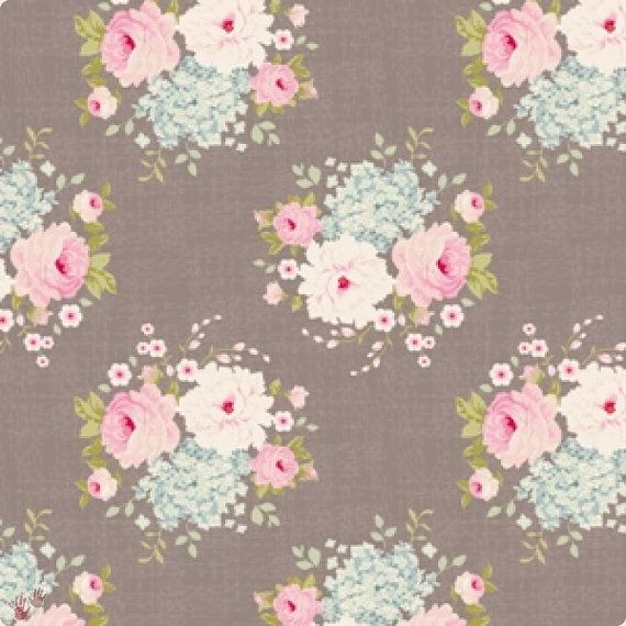 Tilda Fabric FQ Emma Grey Brown NEW Christmas Play Range on Etsy, $6.24 - 3 yards please