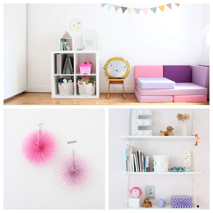 557 best kinderzimmer f r m dchen images on pinterest child room babies rooms and baby room. Black Bedroom Furniture Sets. Home Design Ideas