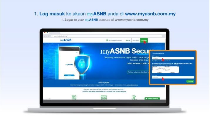 Myasnb Permohonan Pengeluaran Dan Semakan Asb Online In 2020 Online Dan Electronic Products
