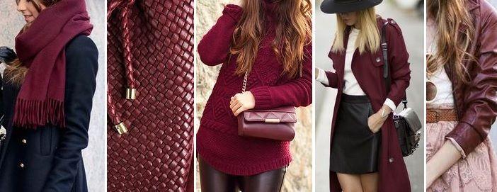 Marsala trend Herbst 2015