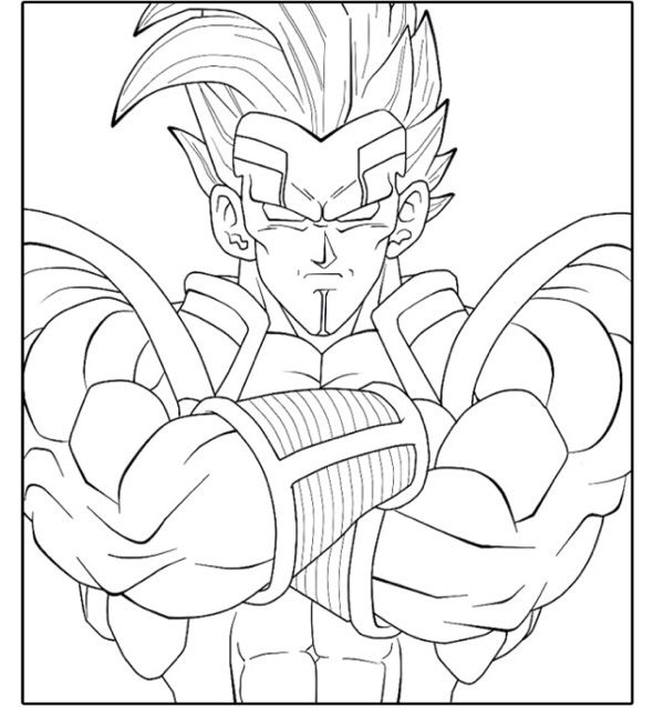 Printable coloring pages of dragonball gt ~ 42 best Printable Color Design images on Pinterest ...