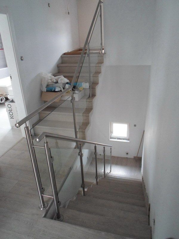 Schody i podłoga wykonana za paneli Quick-Step Largo Dąb jasny rustykalny :)