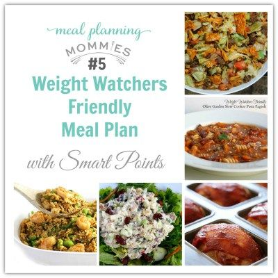 Weight Watcher Friendly Meal Plan with Smart Points #5