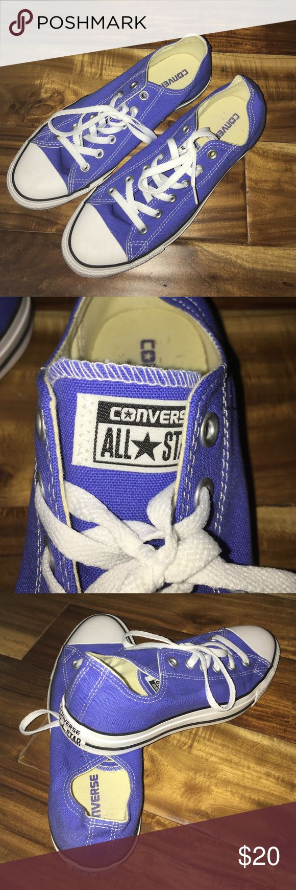 Converse Classic Sneakers Converse in Blue/Purple Shade. Never Worn. Send me an offer! Cheaper price available on converse bundles Converse Shoes Sneakers