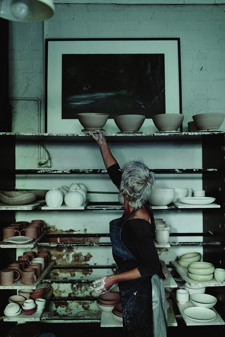 The Australian ceramicist regards her work as establishing connections. To history, to nature, to life and to people
