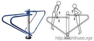 Máy tập xà kép exercising bars
