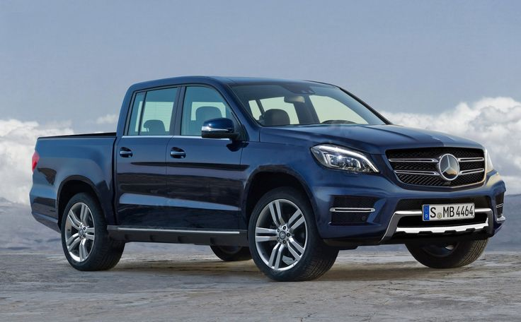 blogmotorzone: Mercedes Pick-up 2016. Para leer más visita: http://blogmotorzone.blogspot.com.es/2016/10/mercedes-pick-up-2016.html