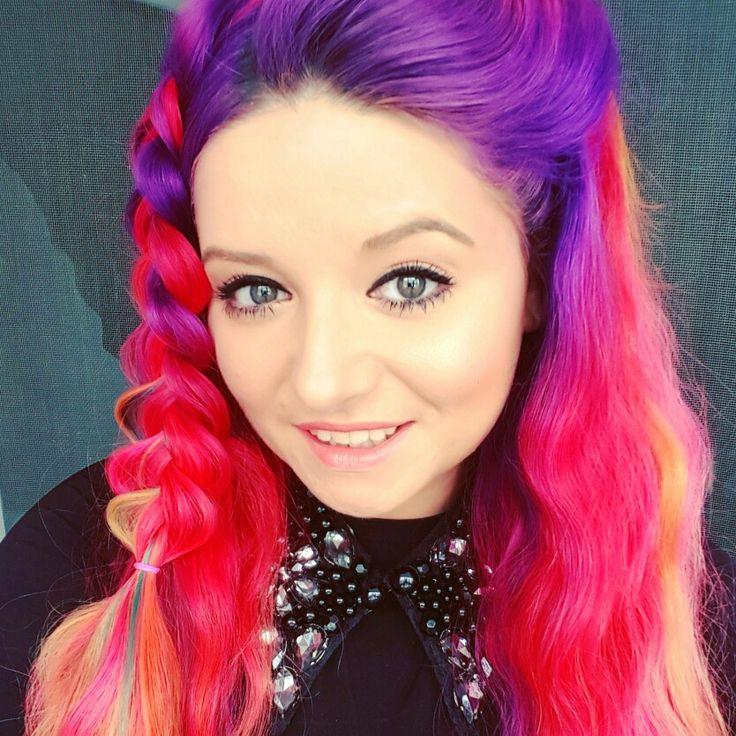 Unicorn Hair braided style