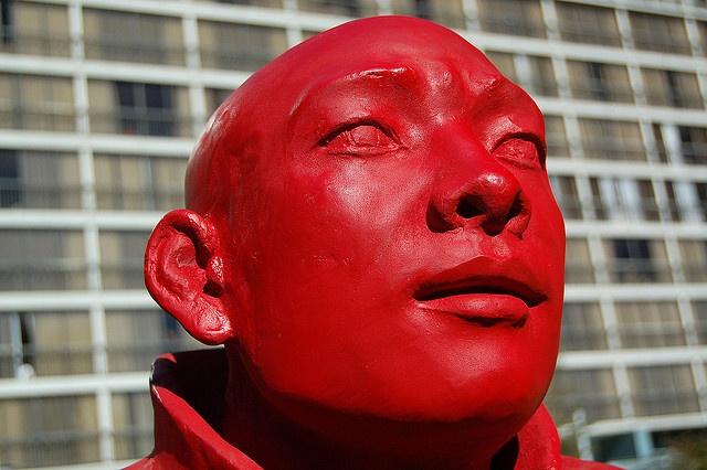 """""""The Meeting"""" by Wang Shugang"""" is part of the 2009-2011Vancouver Biennale  See previous posting for more info and photos     Viettel IDC tại địa chỉ Tòa nhà CIT, Ngõ 15 Duy Tân - Cầu Giấy - Hà Nội:"""