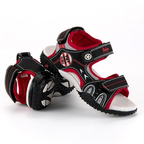 Sandalki Dzieciece Dla Dzieci Americanclub Czarne Wygodne Sandaly American American Club Baby Boy Shoes Kid Shoes Baby Shoes