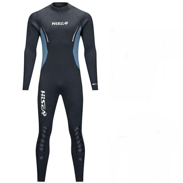 Männer Speerfischen Neoprenanzug 5mm Neopren Badeanzug Tauch Surfen Schnorchel Schwimmen Nass Anzug Badebekleidung langarm Strand Triathlon