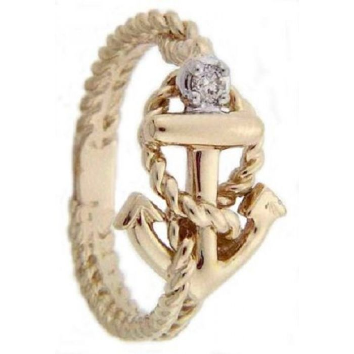 Promise Rings With Anchors