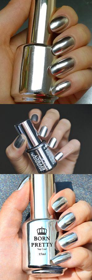 born pretty nails, born pretty nails polish, mirror nails, mirror nails design, mirror nails polish, mirror polish nail, born pretty polish, nails metallic, nails metallic chrome, mirror effect nails, mirror effect nails polish, layla nail polish, layla nail polish mirror, nail polish mirror chrome, chrome nails designs, chrome nail polish mirror, unhas metalicas, metallic nails chrome manicures,