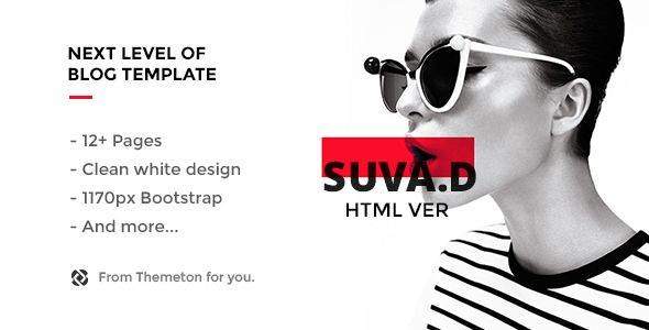 SUVD - Responsive Personal Blog Template. Full view: https://themeforest.net/item/suvd-responsive-personal-blog-template/17085105?s_rank=1?ref=thanhdesign