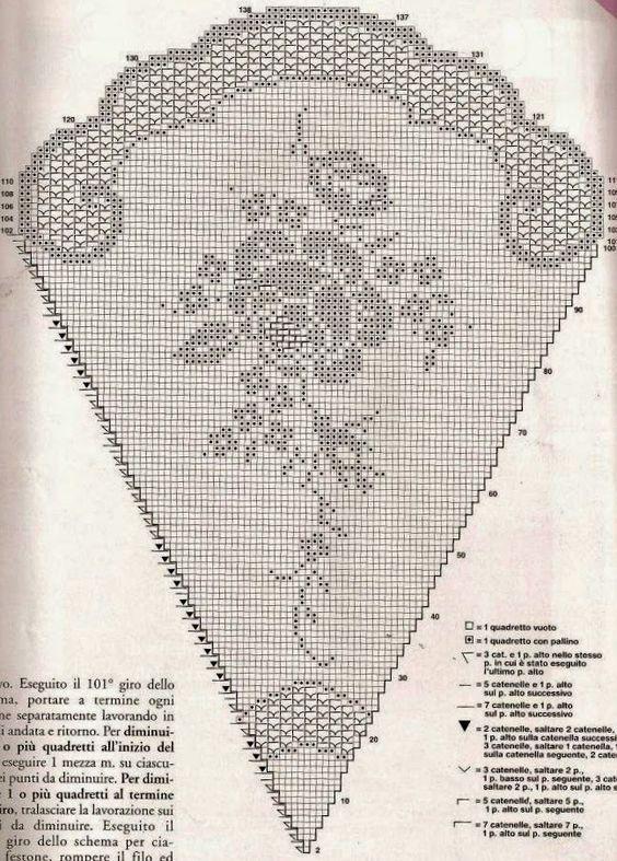 Kira scheme crochet: Scheme crochet no. 10: